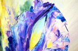 "Картина маслом ""Mysterious Flower"", фото №5"