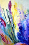 "Картина маслом ""Mysterious Flower"", фото №7"