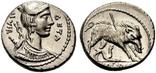 Республиканский денарий 68 г. до н. э., фото №2