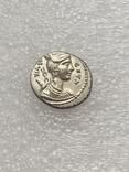 Республиканский денарий 68 г. до н. э., фото №3