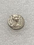 Республиканский денарий 68 г. до н. э., фото №4