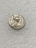 Республиканский денарий 68 г. до н. э., фото №5