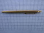 Ручки 2шт.АР806.8 (золотое перо) и ручка шариковая 1500 лет Киеву.Обе ручки позолоченные., фото №7