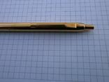 Ручки 2шт.АР806.8 (золотое перо) и ручка шариковая 1500 лет Киеву.Обе ручки позолоченные., фото №8