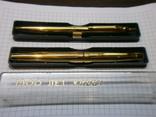 Ручки 2шт.АР806.8 (золотое перо) и ручка шариковая 1500 лет Киеву.Обе ручки позолоченные., фото №13