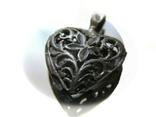 Кулон сердечко серебро, фото №9