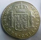 8 реалів 1791 року DA -  Іспанське Чилі /срібло/, фото №3
