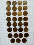 1копейка СССР 1961,62,63,65-91м,л. Без повторов, фото №3