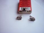 Набор - кольцо и серьги с черным ониксом серебро 925 проба, фото №6