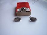 Набор - кольцо и серьги с черным ониксом серебро 925 проба, фото №8
