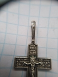 Крест Серебро Евро фото 3