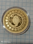 100 рублей 2011 Скорпион Беларусь золото 15,5 гр. 900, фото №4
