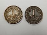 2 монеты по 1 оре, 1907 г Дания, фото №2