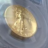 Ультра-рельефный двойной орёл 2009 г. 20 США золото 999.9 -31.1 гр., фото №4