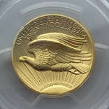 Ультра-рельефный двойной орёл 2009 г. 20 США золото 999.9 -31.1 гр., фото №6