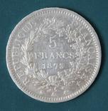 5 франков 1873, фото №3