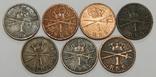 7 монет по 1 скиллингу, Дания, фото №2