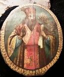 Большая метровая икона,Иаков или Черниговский?, фото №6