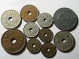 Монеты Дании 10шт., фото №2