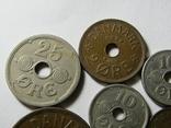 Монеты Дании 10шт., фото №3