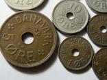 Монеты Дании 10шт., фото №4