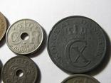 Монеты Дании 10шт., фото №11