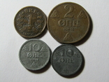 Монеты Норвегии 4 шт., фото №2