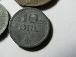 Монеты Норвегии 4 шт., фото №6