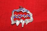 """Кулон знак зодиака"""" Водолей"""" серебро, фото №2"""