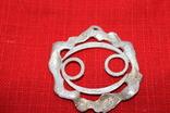 """Кулон знак зодиака"""" Рак"""" серебро, фото №3"""