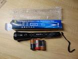 Фонарь Police (крупный) c батарейками, фото №3
