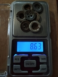 Пуговицы (ретузницы), 7 шт, фото №4