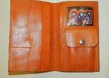 Винтажное кожанное portmone, фото №3