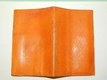 Винтажное кожанное portmone, фото №7