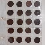 20 монет Швеції по 2 оре 1881-1907 роки, фото №2