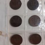 20 монет Швеції по 2 оре 1881-1907 роки, фото №3