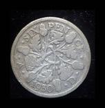 Великобритания 6 пенса 1930 серебро, фото №2
