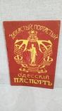 Одесский паспорт сувенир самиздат, фото №2