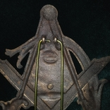 Масонский  ритуальная герб знак табличка настольная, фото №4