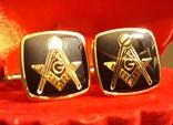 Запонки масонские, фото №2