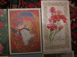 Открытки СССР разные 16шт чистые, фото №5