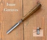 Isaac Greaves, Sheffield, England Стамеска полукруглая шириной 14мм, фото №2