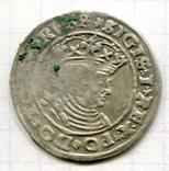 Сігізмунд 1 гріш 1528 рік м. Торунь для землі Пруської, фото №2