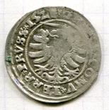 Сігізмунд 1 гріш 1528 рік м. Торунь для землі Пруської, фото №3