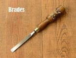 Brades William Hunt & Sons England Антикварная плоская стамеска шириной 13мм, фото №2