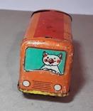 Железный Автобус СССР длина 7 см,без механизма, фото №6