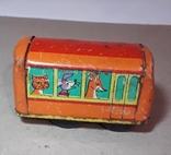 Железный Автобус СССР длина 7 см,без механизма, фото №2