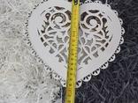 Шкатулка в виде сердца, фото №8