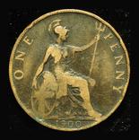 Великобритания пенни 1900, фото №3