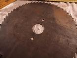 Диск отрезной для циркулярной пилы СССР большой, фото №7